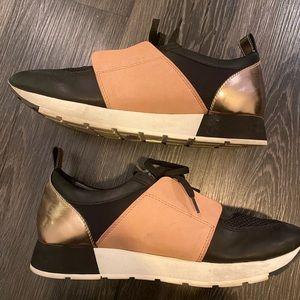 dolce vita platform sneakers size 10